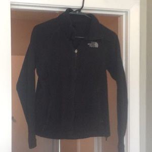 Black northface jacket